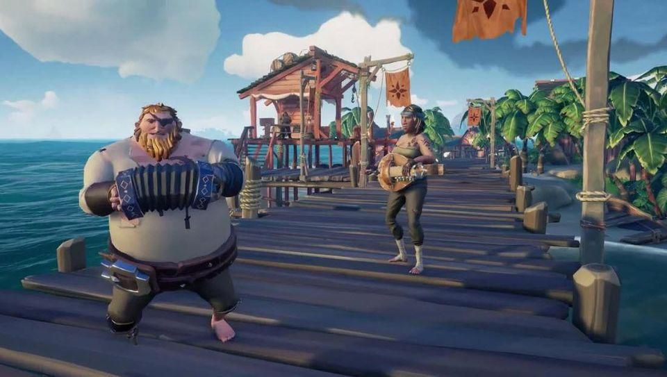 Sea Of Thieves : course Sea of Thieves fenêtres 7