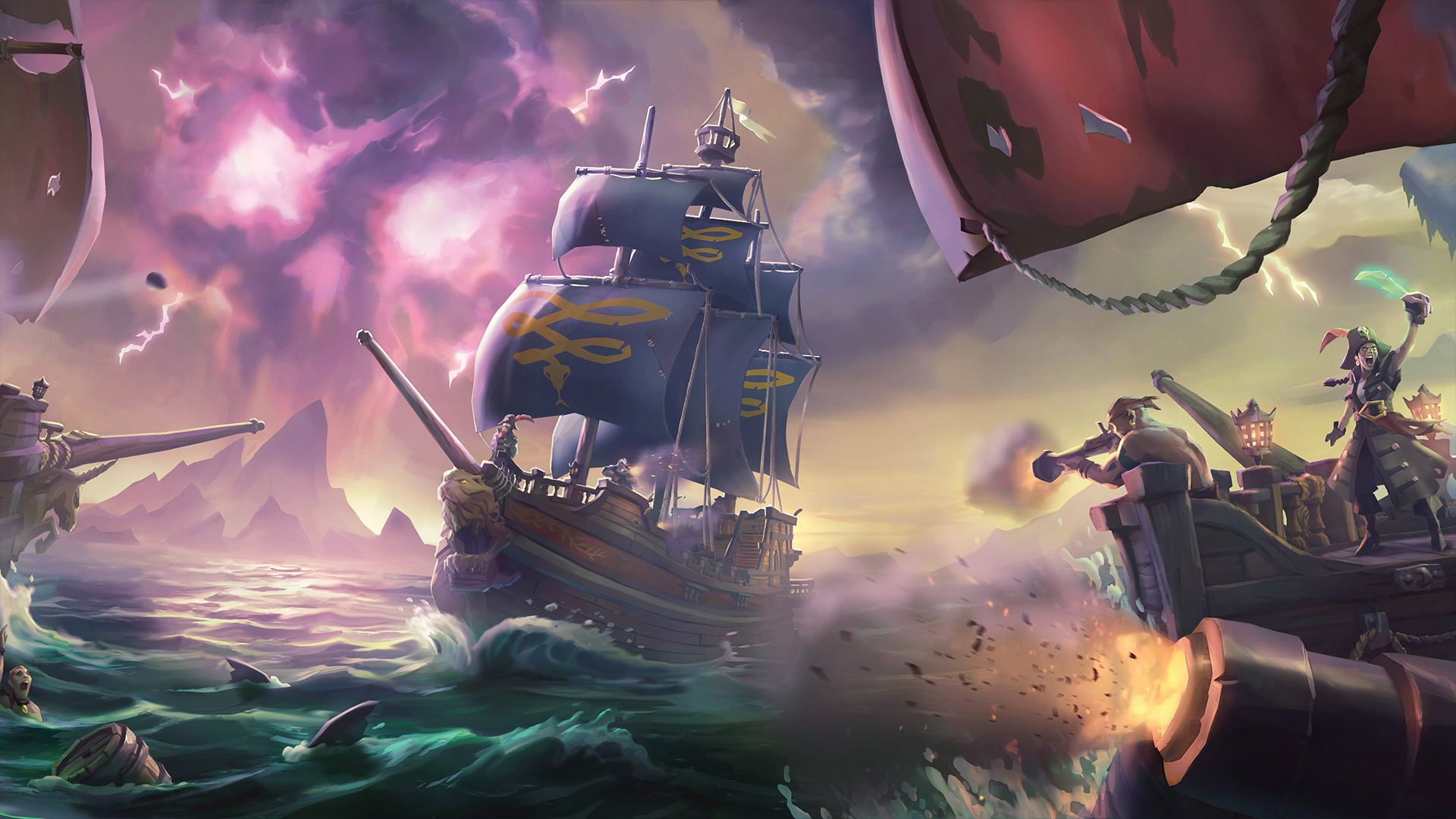 Sea Of Thieves / Sea of Thieves comment attraper les poulets